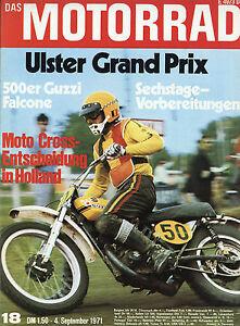 Motorrad 18 71 Moto Guzzi Falcone Ulster Gp Rotax Rungg 1971 Italien Viertakter üBereinstimmung In Farbe Auto & Verkehr Zeitschriften