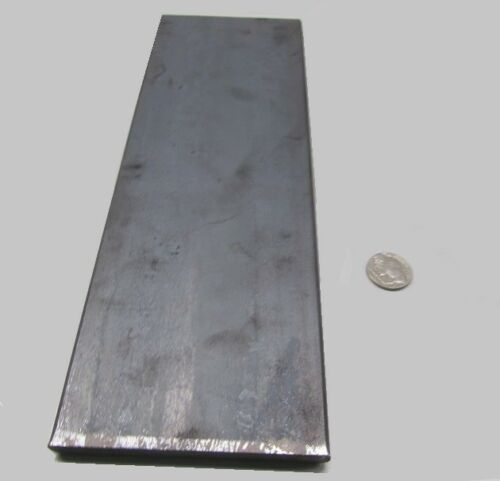 """Thick x 4/"""" Wide x 12/"""" 5160 Spring Steel Knife, Blade +//-.006/"""" Bar .375/"""""""