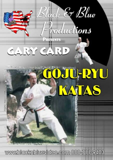9 Chinese American Goju Ryu Katas taught by World Champion Gary Card
