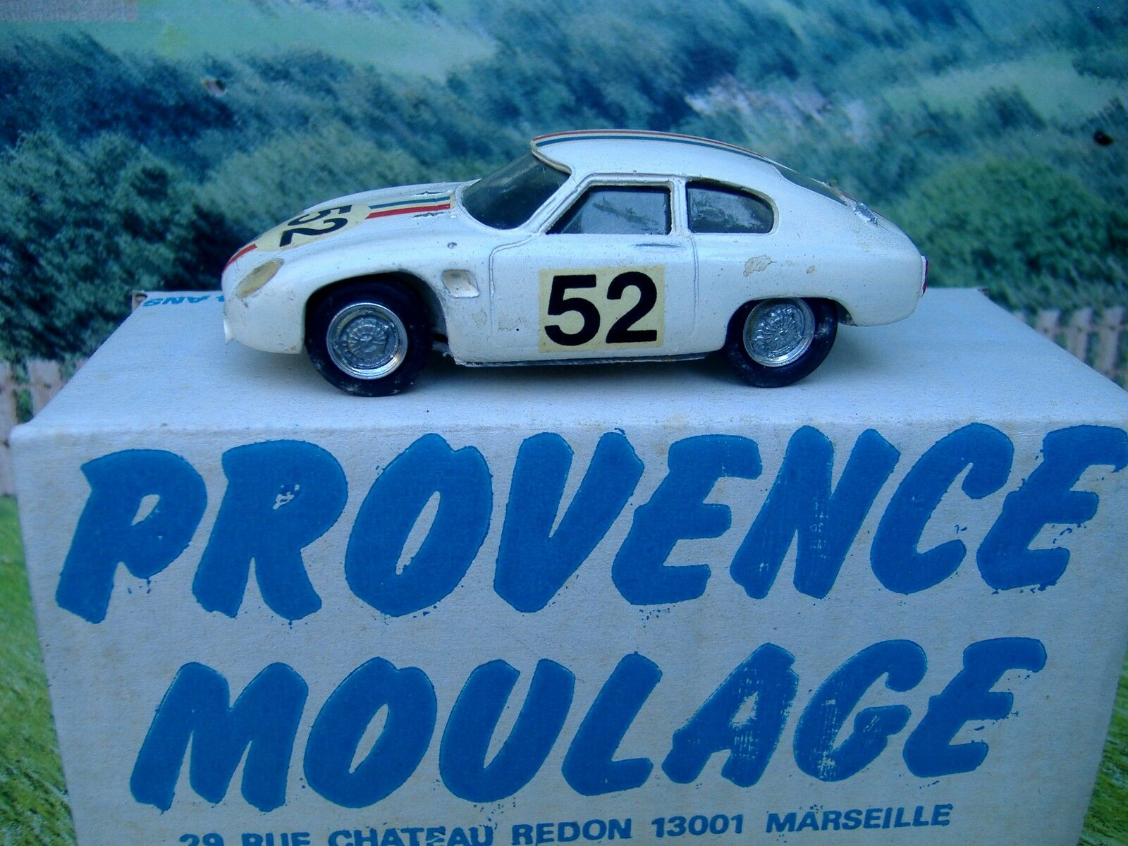 1 43 Provence Moulage (Francia) D.b Super Rally Lm 1961 Hecho A Mano Resina coche modelo