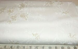 BTY-CREAM-FLORAL-TONAL-BLENDER-100-COTTON-FABRIC-44-034-QUILTING-Timeless-Treasure
