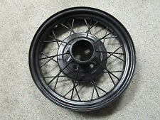 "28-31 FORD MODEL A OEM 19"" FRONT REAR WHEEL RIM BLACK"