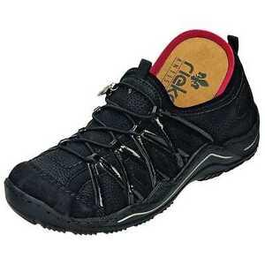 Details zu Rieker Schuhe Damen Sneakers, auch für lose Einlagen, L0559 00, Gr. 36 43 +NEU+