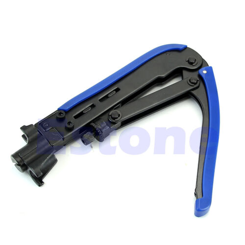 Coaxial Cable Compression Crimper Tool RG59 RG6 RG11 For F Connector CATV TV New