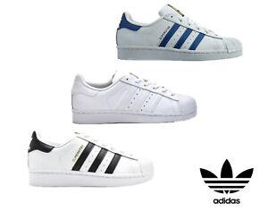 Adidas-Originals-Superstar-Boys-Kids-Junior-Trainers-Casual-Fashion-Shoes