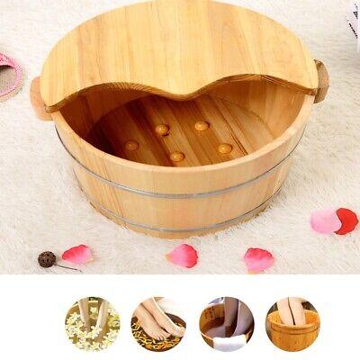 Wooden Foot Basin Tub Foot Soaking Bucket For Foot Bath
