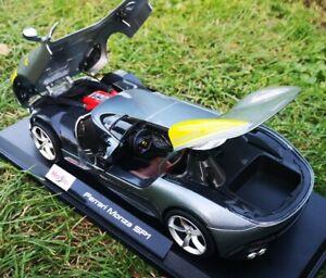 Ferrari-Monza-SP1-modelo-diecast-escala-1-18-Nueva-Edicion-Limitada