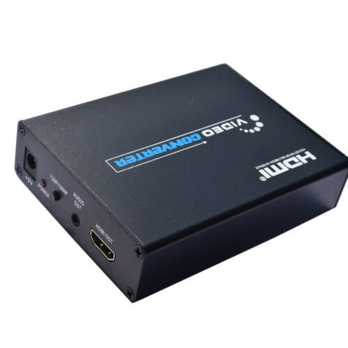 SCART to HDMI Video//Audio Converter Adapter Composite For TV Support 3D 1080p