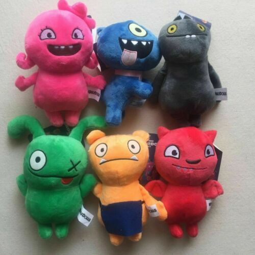 "2019 Movie Uglydolls Plush Toy Ugly Dog Babo OX Lucky Bat Moxy Wage Kids Gift 7/"""