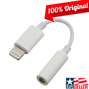headphone jack adapter iphone genuine oem apple lightning to 3 5 mm headphone 14259
