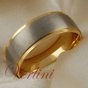 Image Is Loading Anium Mens Ring 14k Gold Wedding Band Matte