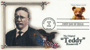 "2002 Teddy Bear"" - #3655 Gund - ""The 'Original Teddy' - Roosevelt"" - EmPrint"