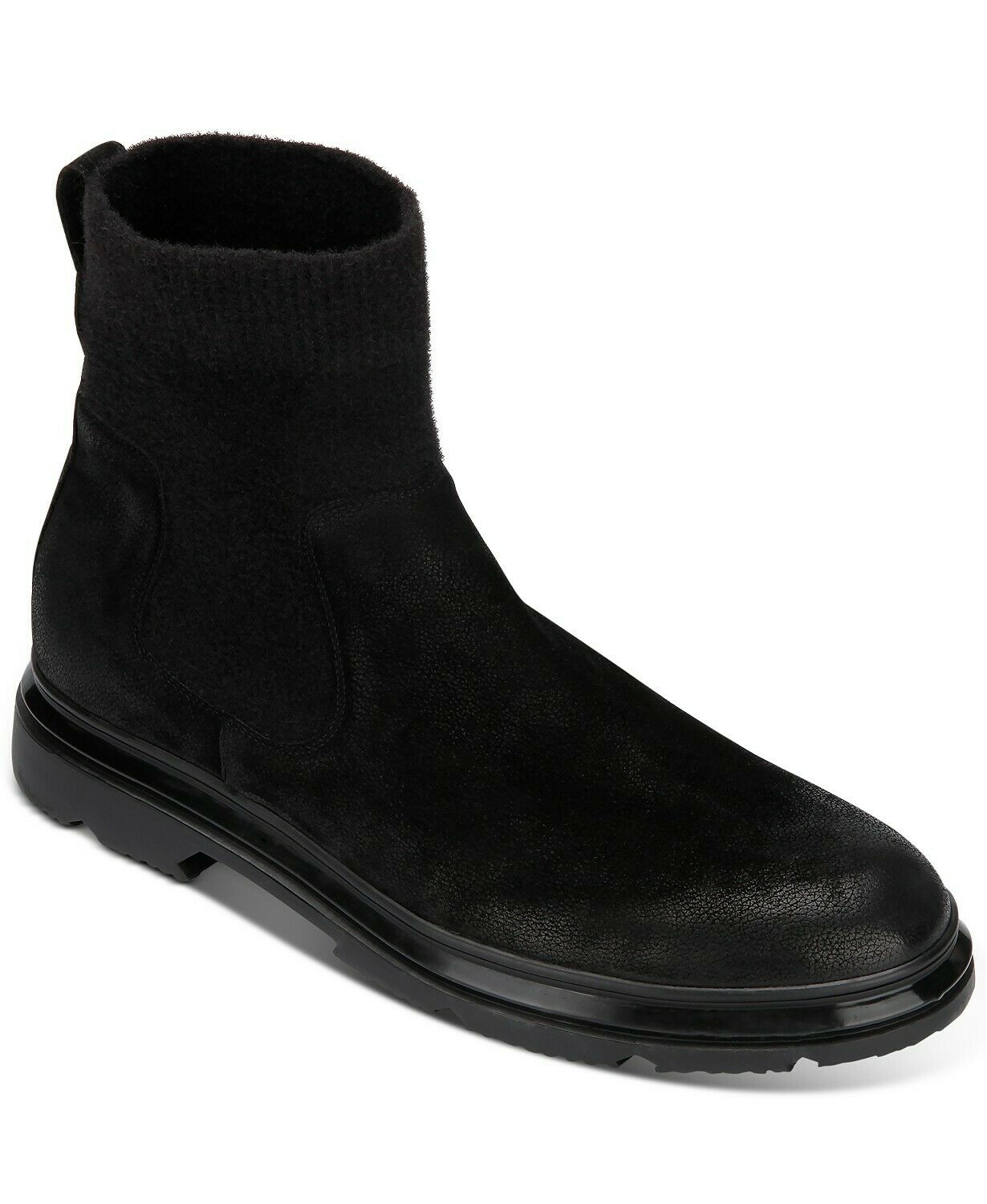 Kenneth Cole New York Men's Carter Boot Nubuck Leather Two Slip-On Boots