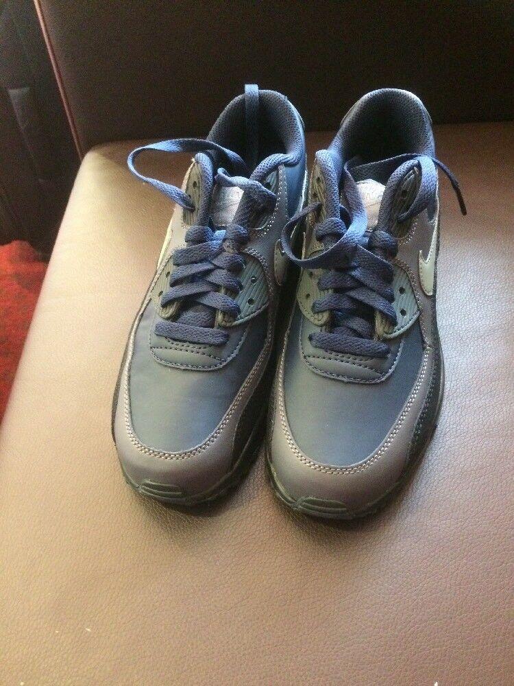 Nike Air Max GRIGIO 90 Sneaker BLU, NERO, GRIGIO Max SCURO 033cc3