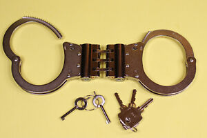 TCH-HSH1-V-HIGH-SECURITY-HANDCUFFS-NEW-WITH-5-KEYS