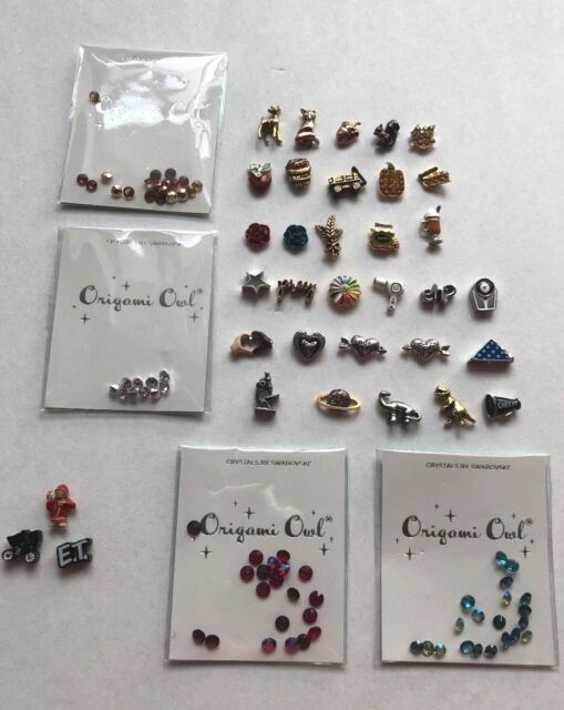 Origami Owl Charms-2018 Fall Winter Charm Collection Ship Free Buy 4+ Save $2