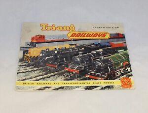 TRIANG  RAILWAYS CATALOGUE FOURTH EDITION R.280 1958