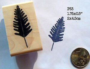 Herb twig Rubber Stamp P53