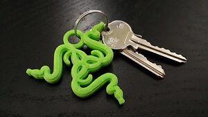 razer 3d printed keychain ebay