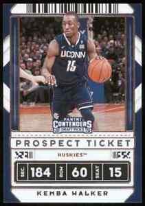 2020-21 Contenders Draft Picks Prospect Tickets Variation #9 Kemba Walker