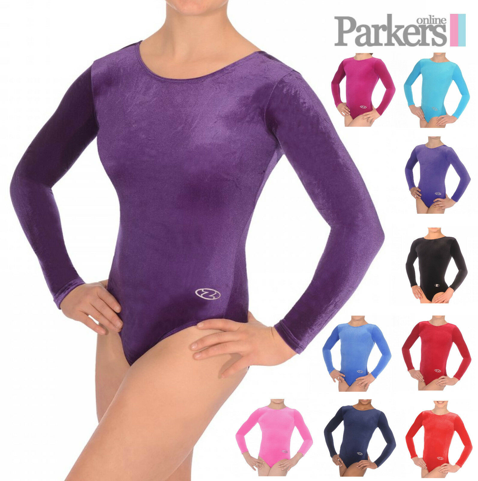 BRAND NEW LONG SLEEVE ZONE SMOOTH LEOTARD DANCE GYMNASTICS SIZE 24-38 Z102SM