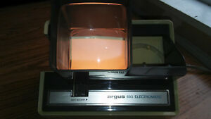 Details about Vintage Argus 693 Electromatic Slide Viewer 35mm Auto! Tested  It Works!
