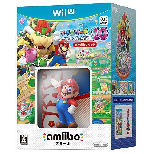 Wii U Mario Party 10 + amiibo Bundle - Japan Import
