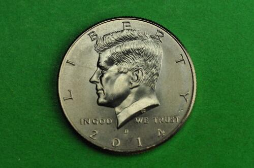 2014-D  BU Mint State Kennedy US Half Dollar Coin