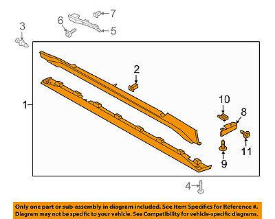 FORD OEM 12-16 Focus Exterior-Rocker Panel Molding Trim Left CP9Z5810177B