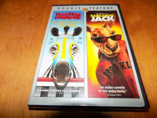 RACING STRIPES & KANGAROO JACK Comedy Classics DOUBLE ...