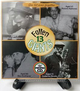 Fallen Giants 13 a series dedicated to Reggae Giants no longer with us R.I.P.