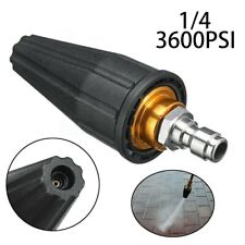 3600psi High Pressure Washer Turbo Nozzle Rotating Spray Tip 41in 16