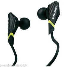 Monster Diesel VEKTR In-Ear Stereo Musik Headset für iPhone 5S 5C schwarz black
