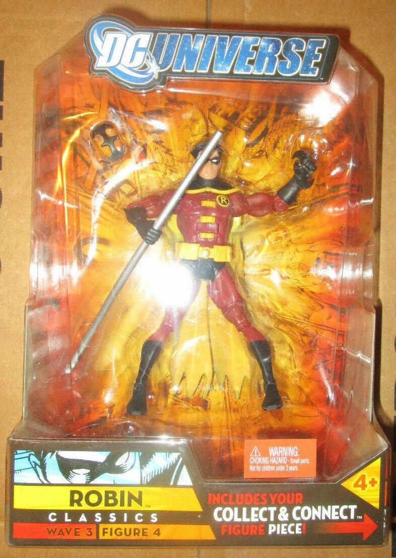 DC clásicos universo Robin de Tim Drake Figura 4 Onda 3 Solomon Grundy Baf