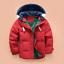 Mode-enfants-VESTE-Avec-Capuche-Parka-Matelasse-Manteau-Garcon-hiver-manteau-Taille-104-146 miniature 6