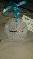 Outer Banks Sand Dollar Made With Sand Beach Ornament