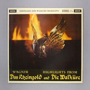 Wagner-Rheingold-amp-Walkure-Highlights-NEAR-MINT-12-034-Vinyl-SXL-2230