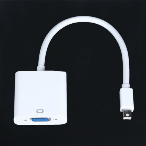 Thunderbolt Mini Displayport to VGA Cable TV Adapter For Microsoft Surface Pro 3