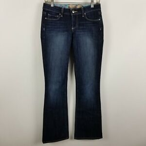 Wash Womens Jeans Montecito Blue Cut 25 Dark Paige Boot Taglia qXwtBx00