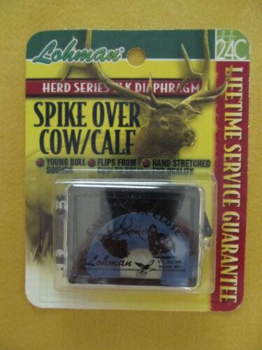 New LOHMAN Spike Over Cow//Calf Herd Series Elk Diaphragm Call 24C