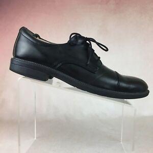 fbe6f71cf55 DEXTER B07 Archer Black Oxford Casual Dress Shoes Cap Toe Lace Up ...