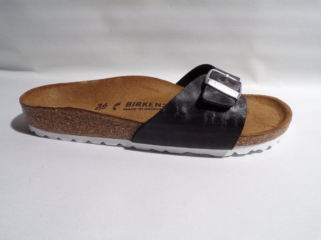 Birkenstock madrid nuevo Bs Shiny Check Black 1005342  nuevo madrid 3a624d