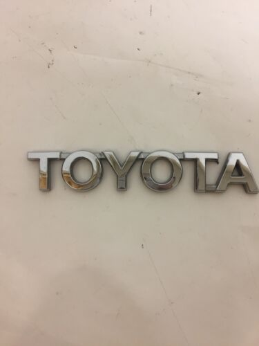 "07-13 Toyota Tundra Rear Tail Gate /""TOYOTA/"" Nameplate Emblem 75444-0C010 Used"