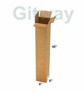 image is loading 25 pc 6x6x40 tall long cardboard shipping golf - Golf Club Shipping Box