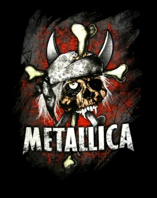 METALLICA cd lgo ARGH MATIE MATEY Official SHIRT LRG New vintage style