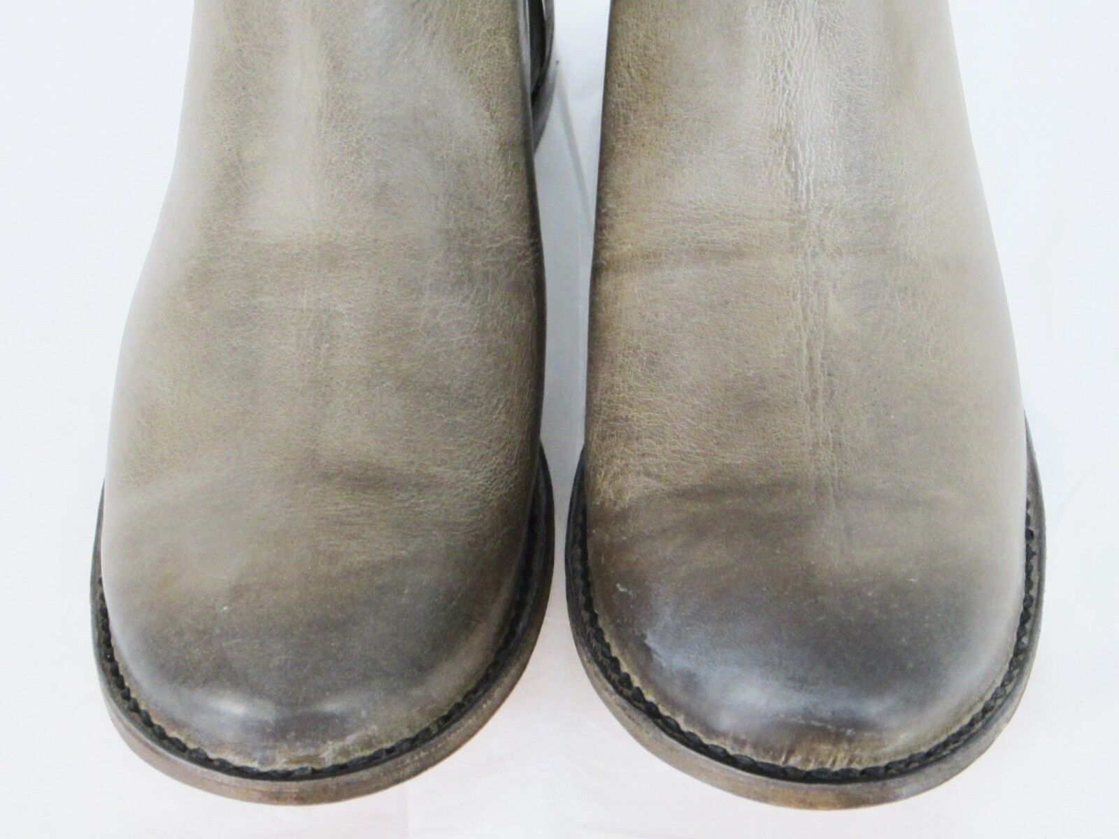 FRYE BOOTS Paige Tall Riding Grey Grey Grey Leather Boots 77534 SZ 5.5  388 97471b