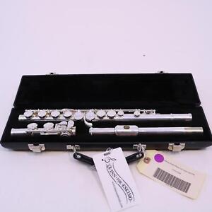 Armstrong 104 étudiant Flûte Avec Offset G Fermé Trou Numéro De Série 9116264 Superbe-afficher Le Titre D'origine Produits De Qualité Selon La Qualité
