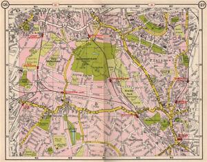 Map Se London.Details About Se London Beckenham Sydenham Downham Bromley Shortlands Plaistow 1953 Old Map