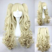 Ladieshair Cosplay Wig Perücke Blond ca. 65cm lang Lolita Karneval Halloween GTC