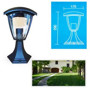 Lampada-Da-Giardino-V-Tac-Lampione-Nera-Esterno-Illuminazione-Lanterna-E27-361